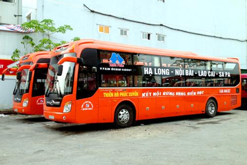 xe khách Hạ Long