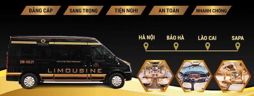 xe Limousine Khai Phát