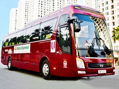 Giới thiệu về xe Sapa Express đi Sapa