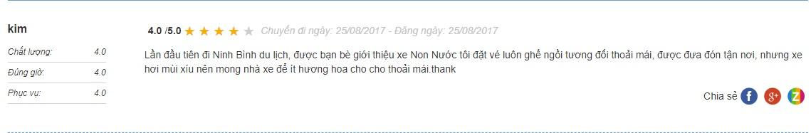 Xe Non nước Ninh Bình Hà Nội