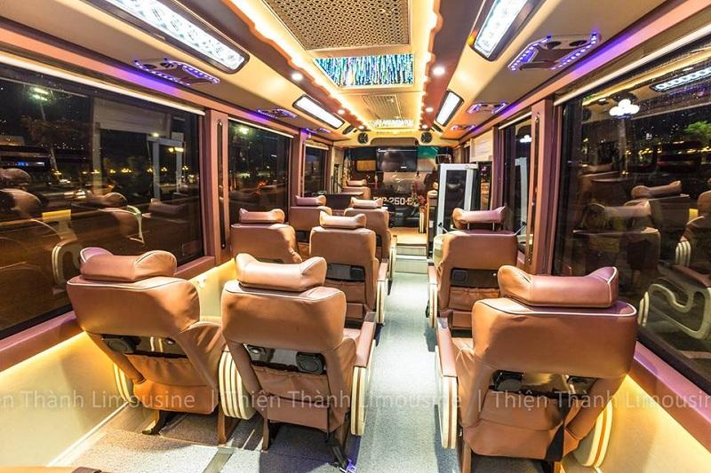 Xe Thiện Thành limousine Sài Gòn đi Kiên Giang