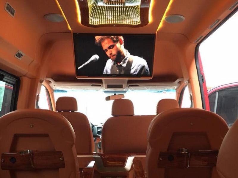 xe cầu mè limousine
