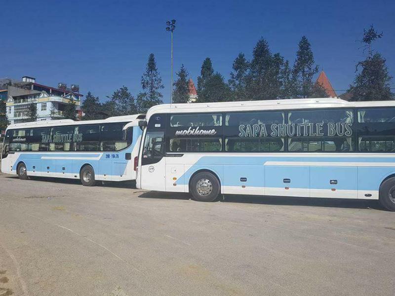 Sapa shuttle bus