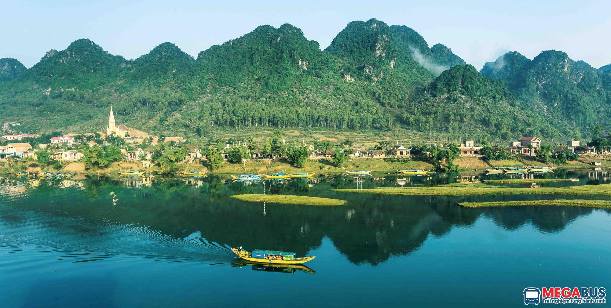 Cảnh đẹp Phong Nha nên thơ trữ tình